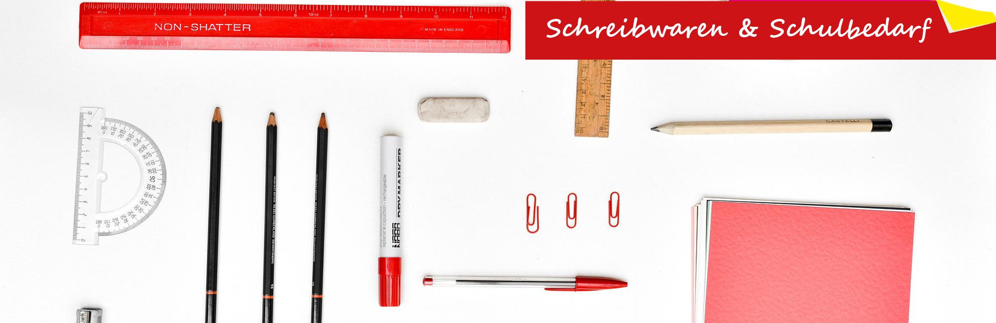 Schreibwaren & Schulbedarf
